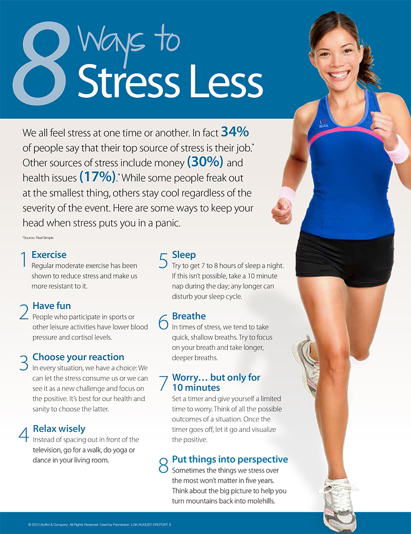 How to Relieve Stress With Running